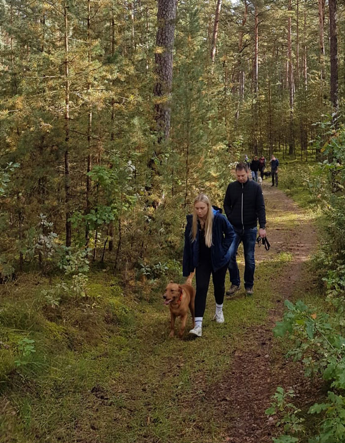 Fan Meile von Hundetrainer Oliver Ludwig. Ob Schwererziehbarer Hund, Assistenzhundeausbildung oder allgemeine Probleme zwischen Hund und Mensch. Wir sind ihr Ansprechpartner.